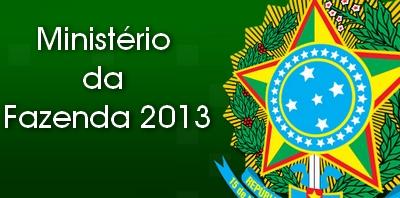 Ministério da Fazenda 2013