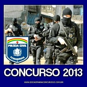 Concurso da Polícia Civil de Pernambuco 2013