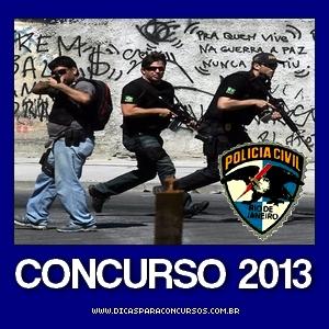 Concurso Polícia Civil do Rio de Janeiro RJ 2013