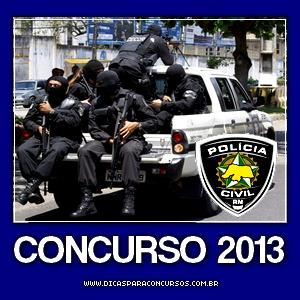 Concurso Polícia Civil do Rio Grande do Norte 2013
