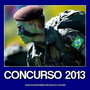 Concurso do Magistério do Exército 2013