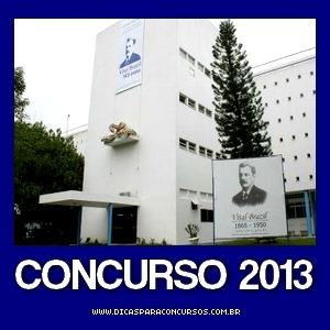Concurso do Instituto Vital Brasil (RJ) 2013
