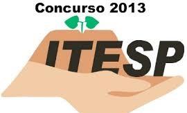 CONCURSO ITESP 2013